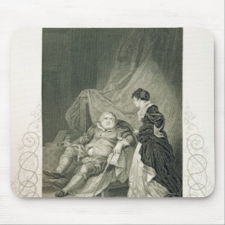 Henry VIII and Catherine Parr, in the play Henry V Mouse Pad