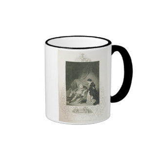 Henry VIII and Catherine Parr, in the play Henry V Coffee Mugs