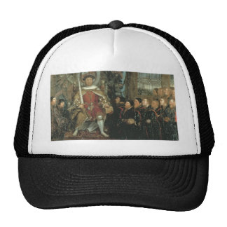 Henry VIII and the Barber Surgeons by Hans Holbein Trucker Hat