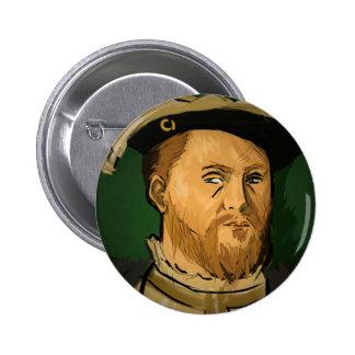 Henry VIII Badge Pinback Button