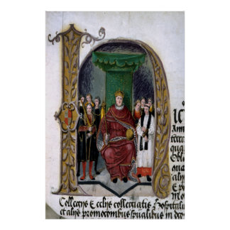 Henry VIII, initial detail Poster
