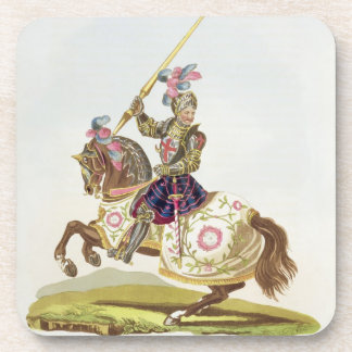 Henry VIII, King of England (1491-1547) 1525, from Drink Coaster