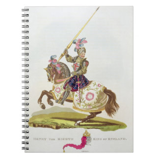 Henry VIII, King of England (1491-1547) 1525, from Spiral Notebook