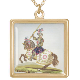 Henry VIII, King of England (1491-1547) 1525, from Square Pendant Necklace