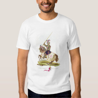 Henry VIII, King of England (1491-1547) 1525, from Tee Shirt