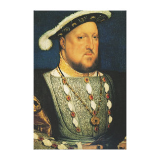 Henry VIII of England by Hans Holbein the Younger Canvas Print