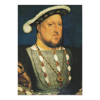 Henry VIII of England by Hans Holbein the Younger Card