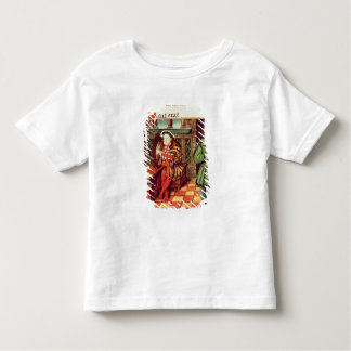 Henry VIII Playing a Harp with his Fool Wil Toddler T-shirt