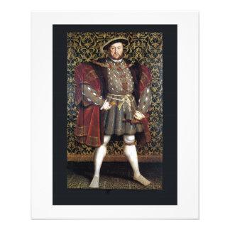 Henry VIII Portrait Flyer