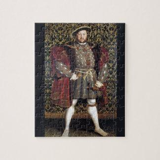 Henry VIII Portrait Jigsaw Puzzles