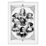 Henry VIII & Six Wives Greeting Cards