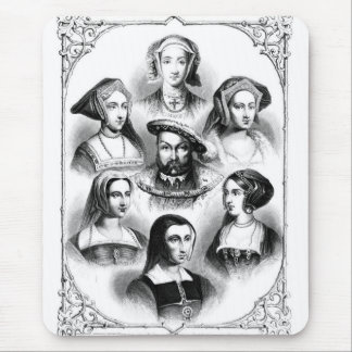 Henry VIII & Wives Mouse Pad