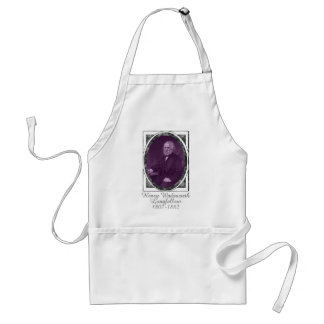 Henry Wadsworth Longfellow Adult Apron