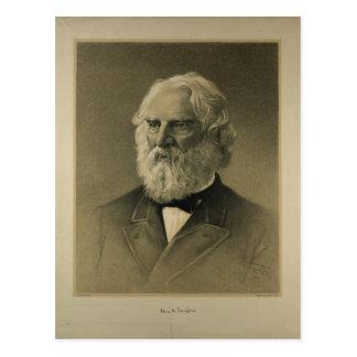 Henry Wadsworth Longfellow Portrait (1888) Postcard