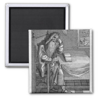 Henry Welby, 1794 2 Inch Square Magnet