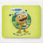 Henry - Where there's a roar there's a way! Mouse Pad