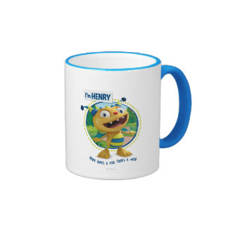 Henry - Where there's a roar there's a way! Coffee Mugs