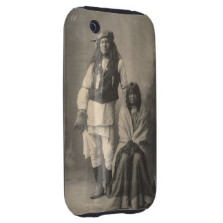 Henry_Wilson_and_Wife_Mojave_Apache iPhone 3 Tough Cases