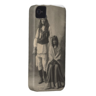 Henry_Wilson_and_Wife_Mojave_Apache iPhone 4 Case-Mate Cases
