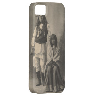 Henry_Wilson_and_Wife_Mojave_Apache iPhone SE/5/5s Case