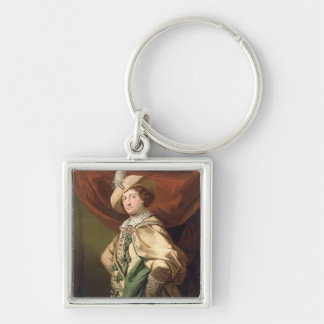 Henry Woodward as Petruchio, c.1773-74 (oil on can Keychain
