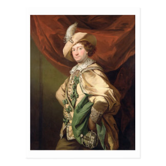 Henry Woodward as Petruchio, c.1773-74 (oil on can Postcard
