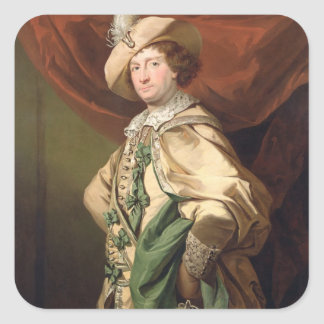 Henry Woodward as Petruchio c 1773-74 oil on can Sticker