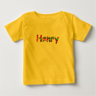 Henry yellow short sleeve t-shirt