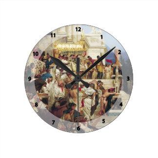 Henryk Siemiradzki- Nero's Torches Round Clocks