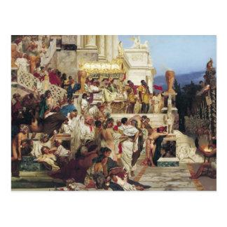 Henryk Siemiradzki- Nero's Torches Postcard
