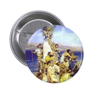 Henryk Siemiradzki-Phryne on Poseidon celebration Buttons