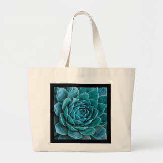 Hens and Chicks Eco-Friendly Grocery Tote Jumbo Tote Bag