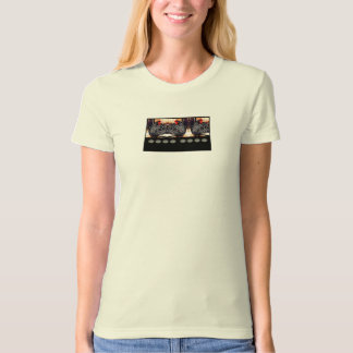 Hens and eggs painting T-Shirt