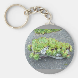 Hens & Chicks in Training (shoe) ~ keychain