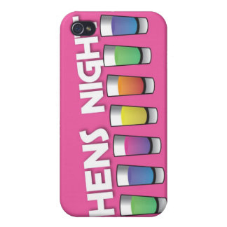 Hens night with Alcohol spirit shots Cover For iPhone 4