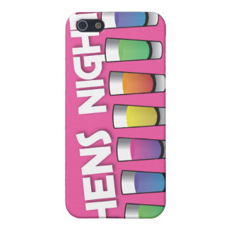 Hens night with Alcohol spirit shots Cover For iPhone SE/5/5s