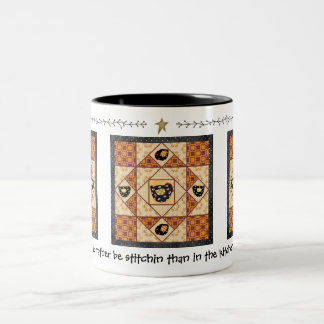 Hens on the Quad Quilter's Mug