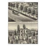 Hensley, residencias de las habas tarjeta