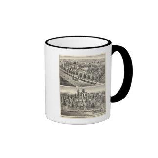 Hensley, residencias de las habas taza de café