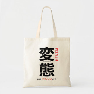 """Hentai"" and proud of it Tote Bag"