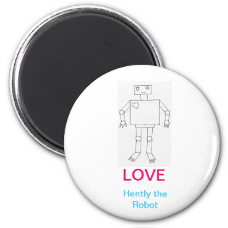 Hently the Robot magnet