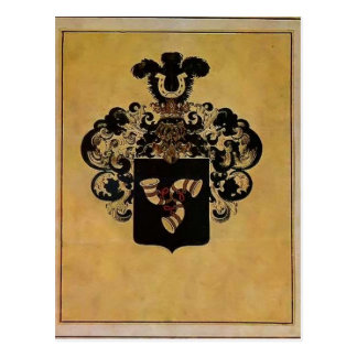 Heorhiy Narbut- Coat of Arms of Narbut family Postcard