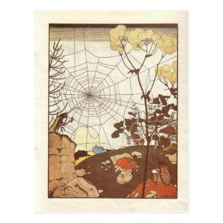 Heorhiy Narbut- 'Fairy Tales: Teremok. Mizgir' Postcard