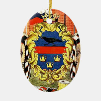 Heorhiy Narbut- Galicia Governorate coat of arms Christmas Ornament