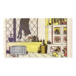 Heorhiy Narbut-How mice buried the cat Double-Sided Standard Business Cards (Pack Of 100)