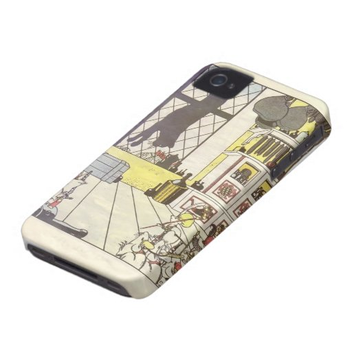 Heorhiy Narbut-How mice buried the cat iPhone 4 Case