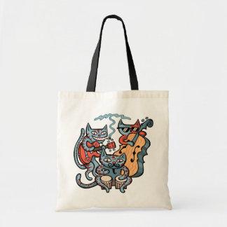 Hep Cat Band Tote Bag