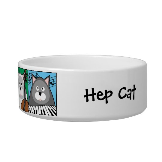 Hep Cat Pet Bowl
