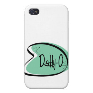 Hep Daddy-O for Father's Day iPhone 4/4S Cover