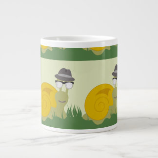 Hep Snail Pattern Giant Coffee Mug
